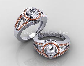gem fancy ring 3d model
