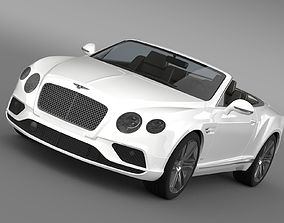 Bentley Continental GTC 2015 3D