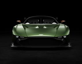 3D model Aston Martin Vulcan Rigged