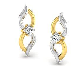 Women earrings 3dm render detail luxury wedding luxury