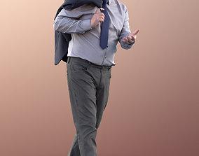 3D model 11328 Phil - Old businessman standing jacket 1