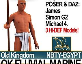 Free Ancient Egypt OK Fluvial Marine Props Poser 3D model
