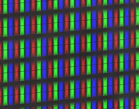 3D printable model RGB split LCD LED shader