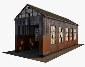 Abandoned industrial Building 3D model