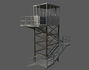 Military Watchtower 3D model
