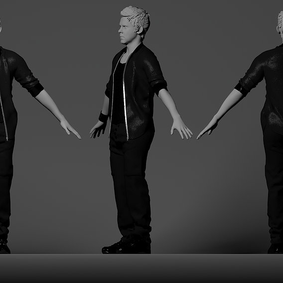 Male Outfits in Marvelous Designer