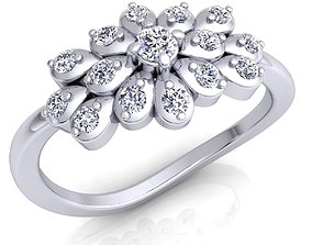 3D printable model Fancy Woman Ring fashion-ring