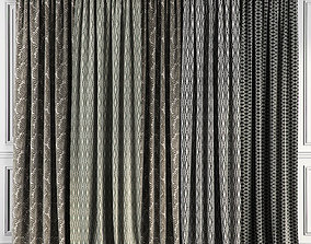Curtain Set 64 3D