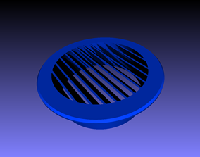 3D print model Air Vent Duct Cover 150mm