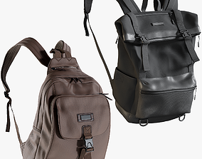 Backpack Collection 6 3D