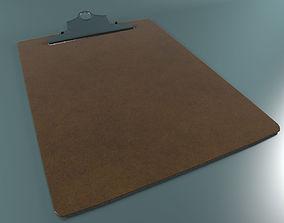 Clipboard v01 3D model