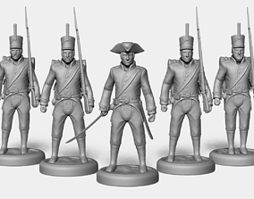 3D printable model Line Infantry Squad
