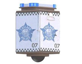 3D asset Chicago POD Police Observation Device