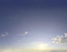 3D model Skydome HDRI - Sunset Clouds V