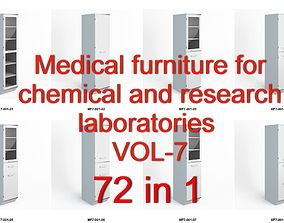 3D model Medical furniture for chemical and research 2