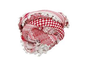 HeadScarf Double 3D model