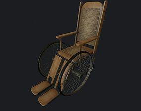 3D model Old Wheelchair