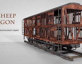 LL Sheep Wagon 3D