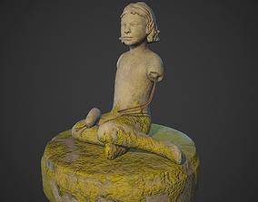 soviet sculpture 3D asset VR / AR ready