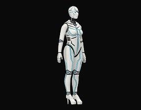 3D Cyborg Eva
