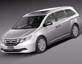 car Honda Odyssey 2014 3D
