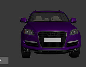 Audi Q7 3D asset
