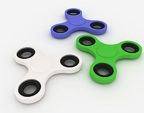 3D model metal Fidget Spinner