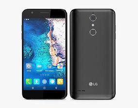 3D model LG K30 Black