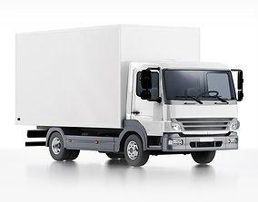 3D model shipment Commercial Truck
