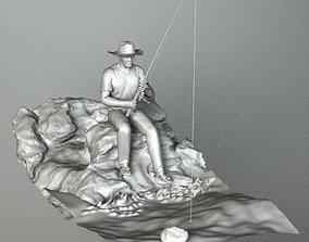 3D model FISHERMAN