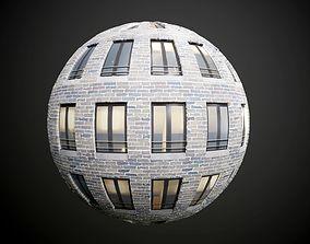 Building Windows Appartment Seamless PBR Texture 3D model