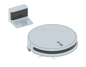 3D model Xiaomi Vacuum Cleaner 1C Robot Vacuum Cleaner