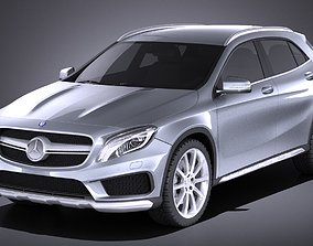 Mercedes-Benz GLA AMG 2015 VRAY 3D