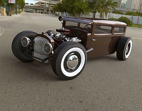 3D model Hot rod power