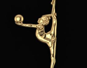 3D printable model Gymnastic girl