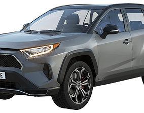 3D Toyota RAV4 Prime 2021
