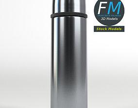 3D model PBR Vacuum flask