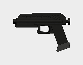 3D printable model Realistic Star Wars DC-17s Pistol with