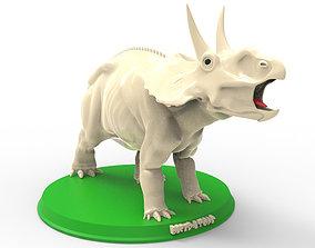 art Diceratops Printable