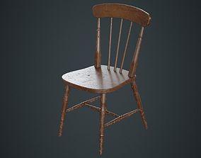 Kitchen Chair 2B 3D model