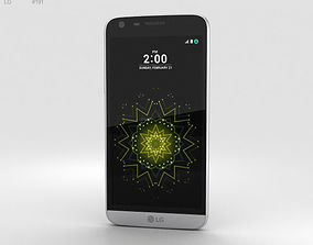 3D model LG G5 Silver
