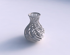 3D printable model Vase wide with branches wide middle