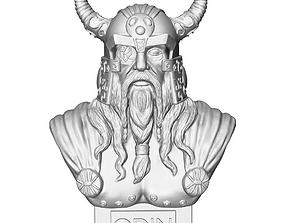 odin god sculpture 3D print model
