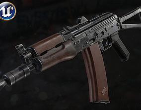 AKS74U 3D asset game-ready