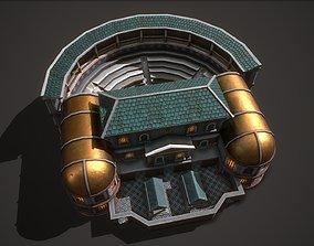 3D asset Ancient Theater 01