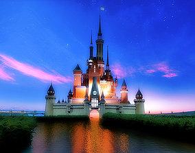 3D model Disney Castle