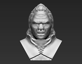 Lurtz Lord of the Rings bust 3D printing ready stl obj 1