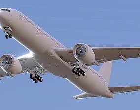 Boeing 777 Nine X 3D model realtime