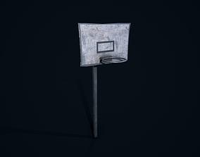 Old Basketball Court 3D model