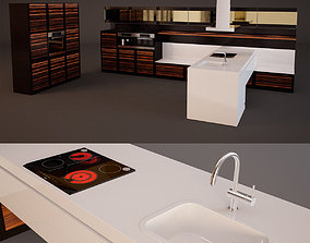 Kitchen Furniture humanchallenge 3D model